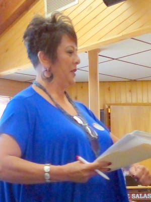 Lincoln County Transit Manager Dolores Herrera welcomed input from Ruidoso councilors.