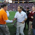Nick Saban: Vols game bigger to Tide players than Iron Bowl