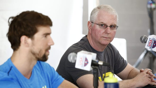 Metro Phoenix is becoming a trendy place for Olympic training as Michael Phelps (left) will follow new Arizona State swim coach Bob Bowman to Arizona.