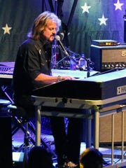 Keyboardist Gregg Rolie performs with Ringo Starr And His All Starr Band.