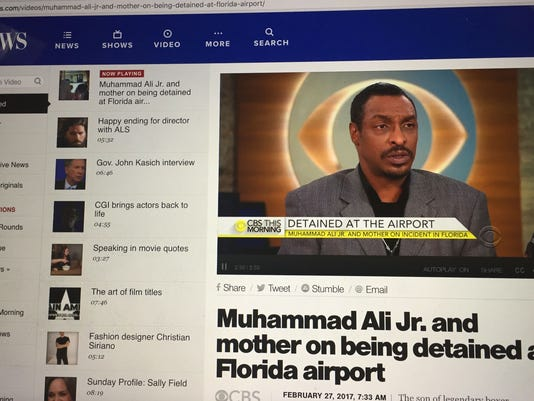 Muhammad Ali Jr. featured on CBS This Morning