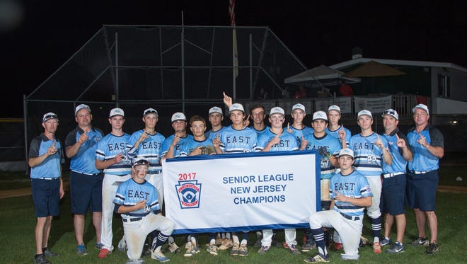 The East Vineland Senior League All-Star team won a state championship on Sunday.