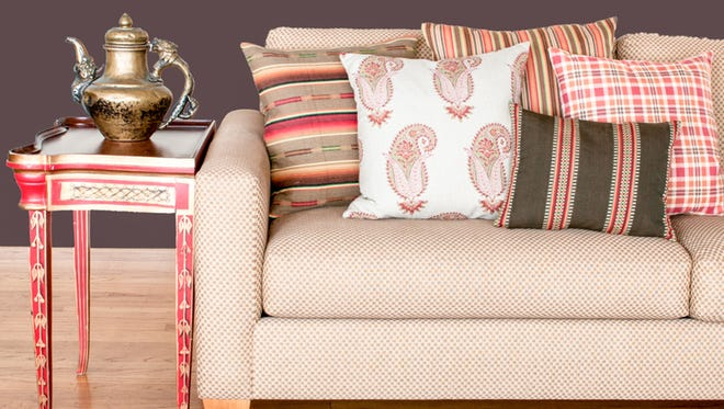 Laura & Kiran's fabrics are hand-printed and woven by master craftsmen in India. (Laura & Kiran)