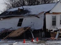 January 8, 2015: A structure explosion reported at 706 McKinley Ave. SW in Canton.