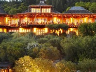 The Auberge du Soleil in Rutherford, Calif., is one of 15 new Five-Star hotels in the Forbes Travel Guide 2014.