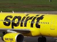 Spirit Airlines rolled this Airbus A319 painted in its new livery out for photographs in Rome, N.Y., on Sept. 15, 2014.