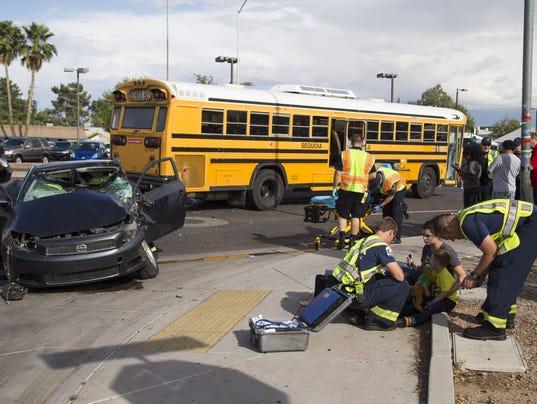 Car Accident On Country Club Mesa Az