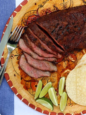 Chili-Lime Flat Iron Steaks