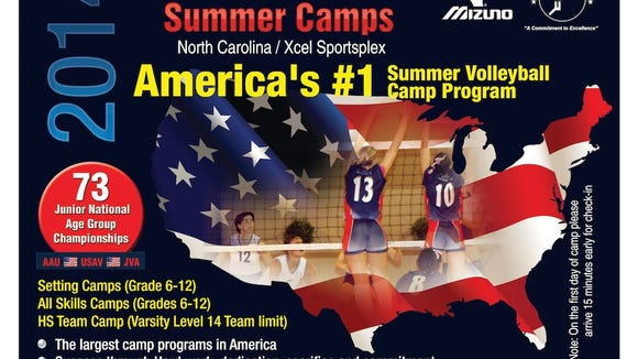 Xcel Sportsplex in Hendersonville will host individual and team camps in July and August.