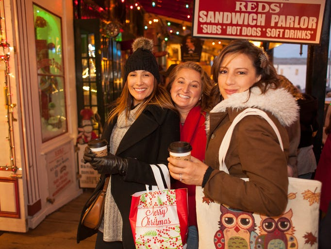 Christmas on the Comstock offered holiday shopping,