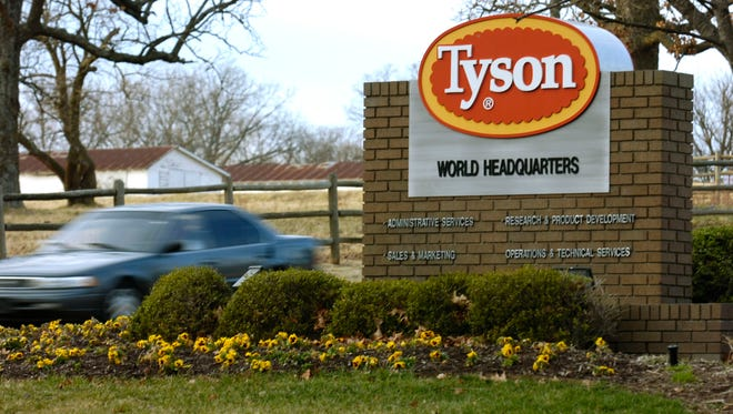 The Supreme Court ruled in a class action case against Tyson Foods, based in Springdale, Ark.