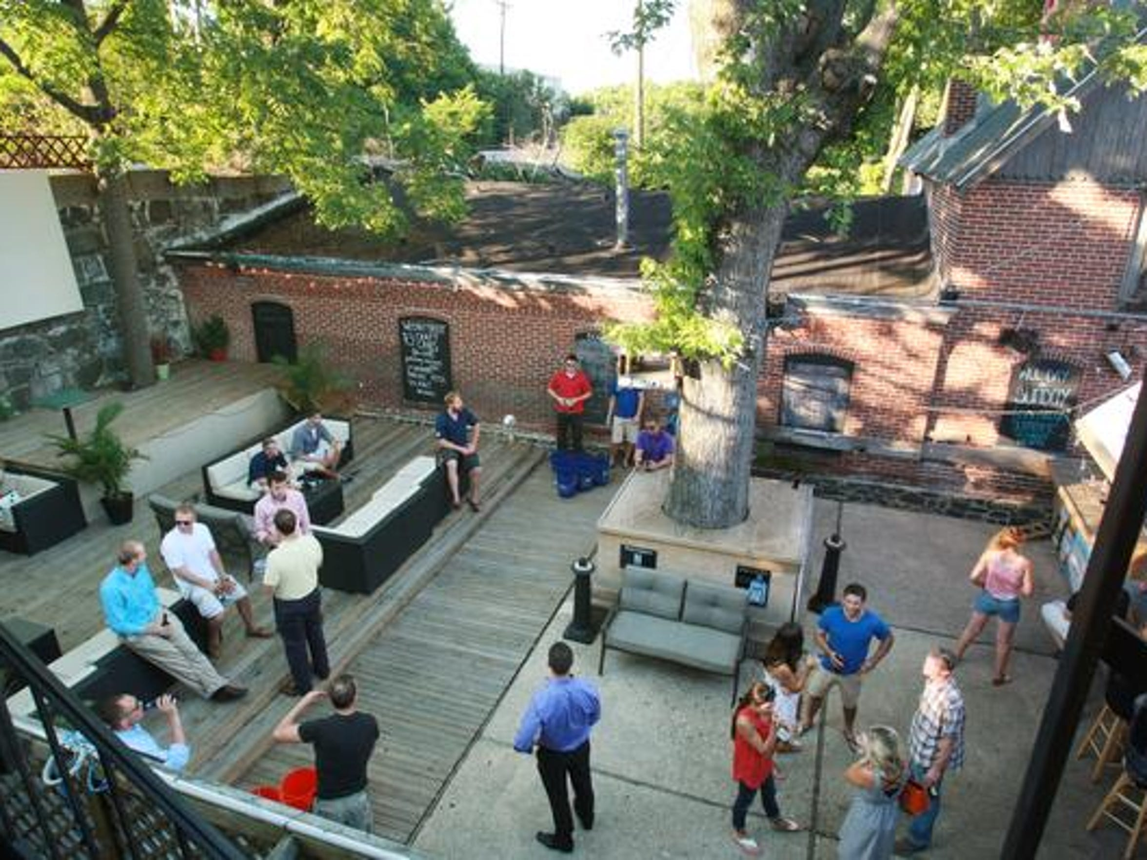 Live music returns to the patio behind Kelly's Logan House.