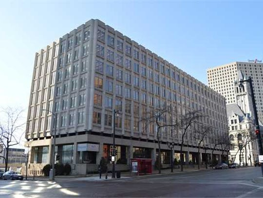 Foxconn Technology Group is buying a seven-story downtown
