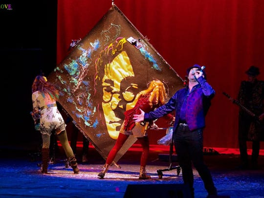 Artrageous is a whirlwind of music, dance and live