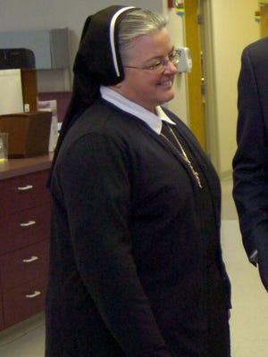 Sister Mavis Champagne, former administrator of St. Mary's Residential Training Center.