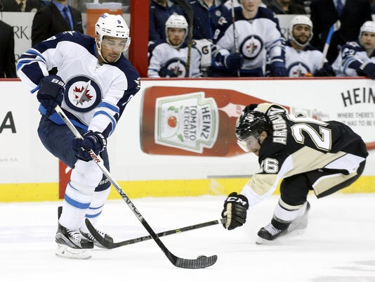 NHL: Winnipeg Jets at Pittsburgh Penguins