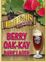 Berry Oak-Kay Dark Lager from Bull Fallls Brewery,