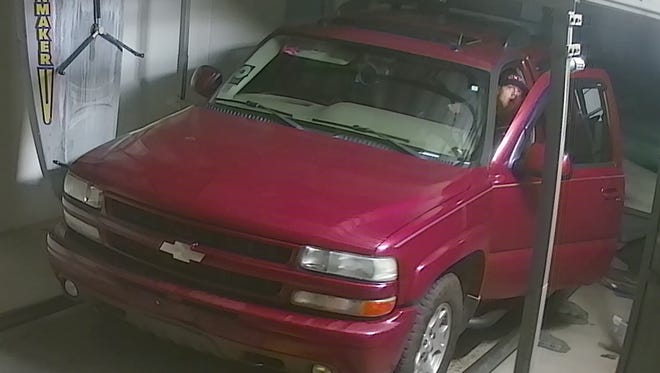 Authorities are attempting to locate this suspect for questioning in connection with a pair of car wash break-ins that took place during the weekend in Staunton and Fishersville.