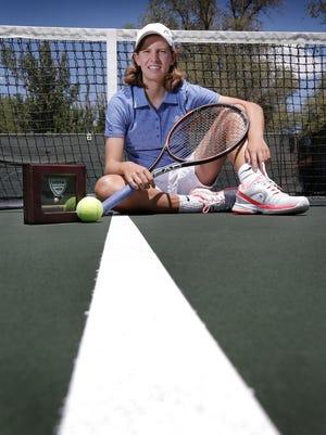 Gianna Pielet won the USTA 14s national tennis championship recently.