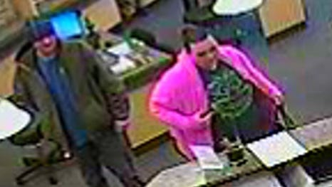 Police are seeking help identifying two suspects from an Oakley robbery.