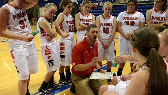 Pisgah head coach Brandon Holloway earned his 300th career win on Friday.