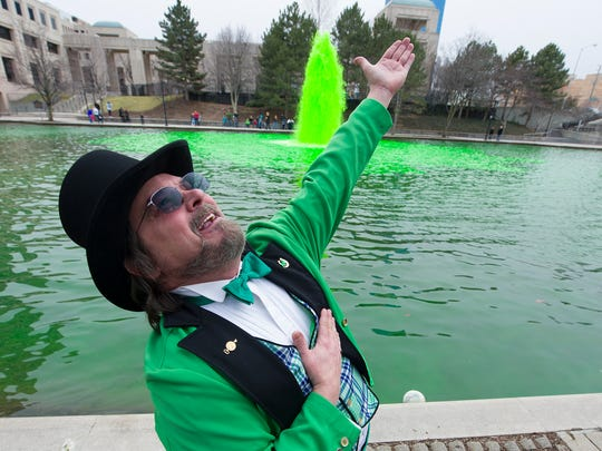 McCrackin has been a leprechaun for Indianapolis' St. Patricks Day celebration for more than 30 years.