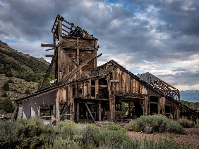 Located in the mountains near the ghost town of Masonic,