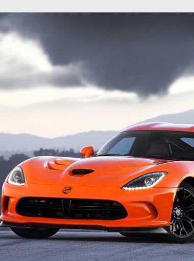 The 2014 SRT Viper.