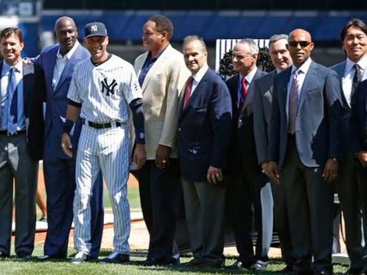 Jeter and friends