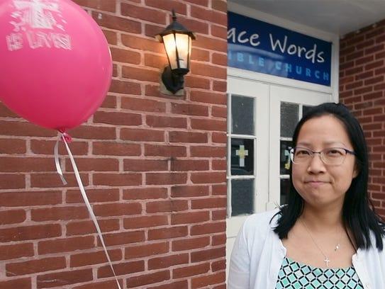 Caroline Jiang, of Grace Words Bible Church, describes