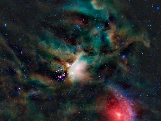 A discovery by Professor Joel Stebbins helps astronomers observe faint star systems, like Rho Ophiuchi.