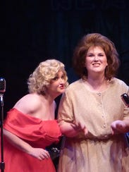 """Chrystal McKee (left) with Brittany Kislick in """"Honky"""