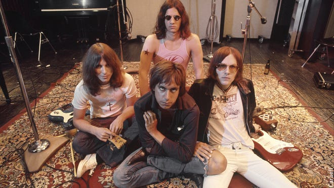 """Vintage Stooges (with Iggy front and center), as seen in the documentary """"Gimme Danger."""""""