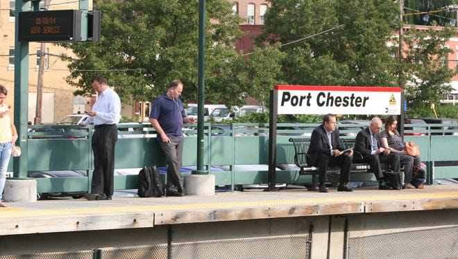 Two wheelchair users and a disability rights group say the northbound platform at the Port Chester train station is not accessible.