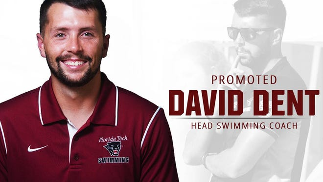 David Dent is named FIT swim coach.