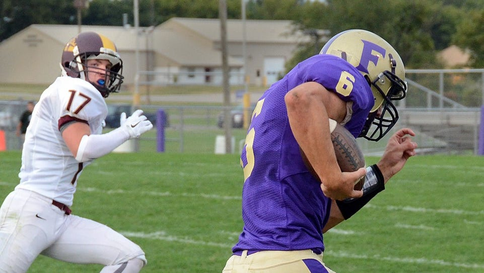 Fowlerville's Nick Semke had three rushing touchdowns