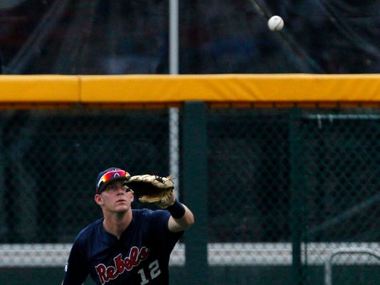 NCAA Baseball: College World Series-Mississippi vs Virginia