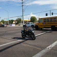The intersection of Stapley Drive and Southern Avenue in Mesa on Thursday, September 4, 2014.