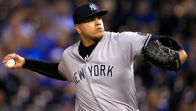 Yankees relief pitcher Dellin Betances.