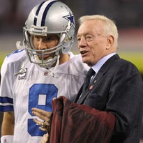 Jerry Jones has Tony Romo's 'interest at the top of my list' as Cowboys QB mulls future