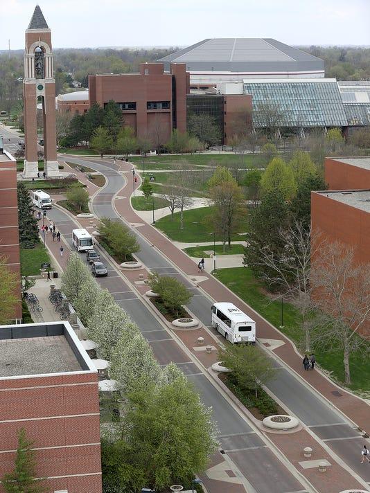 Ball State campus McKinley