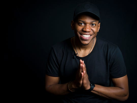 """""""The Voice"""" winner Chris Blue wrote the forward for the """"PrayKnox"""" devotional."""