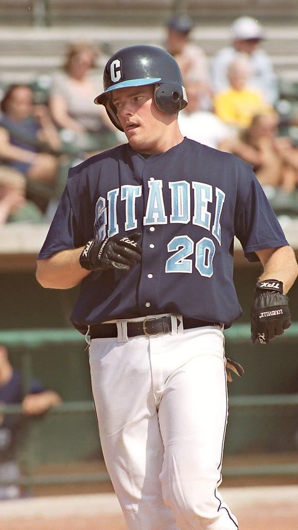 Former A.C. Reynolds star Philip Hartig holds 14 The Citadel baseball records.