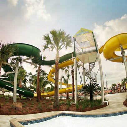 Slides at Gator Grounds!