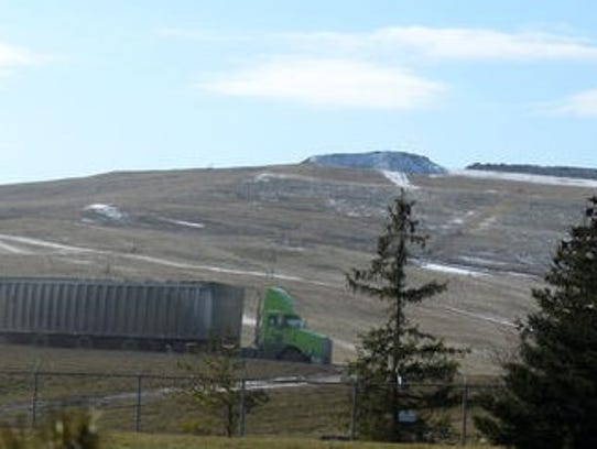 The Arbor Hills landfill in Washtenaw County's Salem