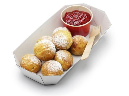 ebelskiver, danish christmas pancake puffs