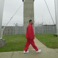 Kevin Stanford in 2002 at the Kentucky State Penitentiary at Eddyville.