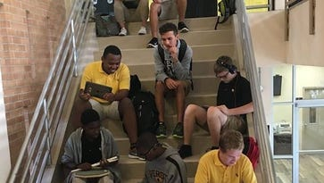 Students' use of iPads earns Bishop Verot High recognition from Apple