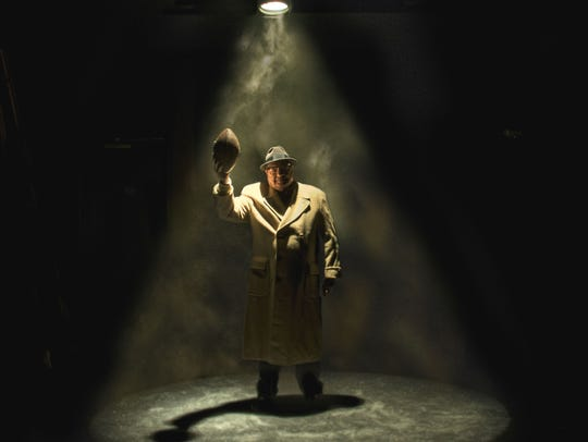 Richard Zavaglia plays Vince Lombardi in Riverside