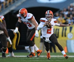Cleveland Browns quarterback Johnny Manziel is not looking in the past anymore.
